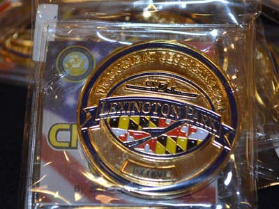 Lexington Park Geocaching Coin