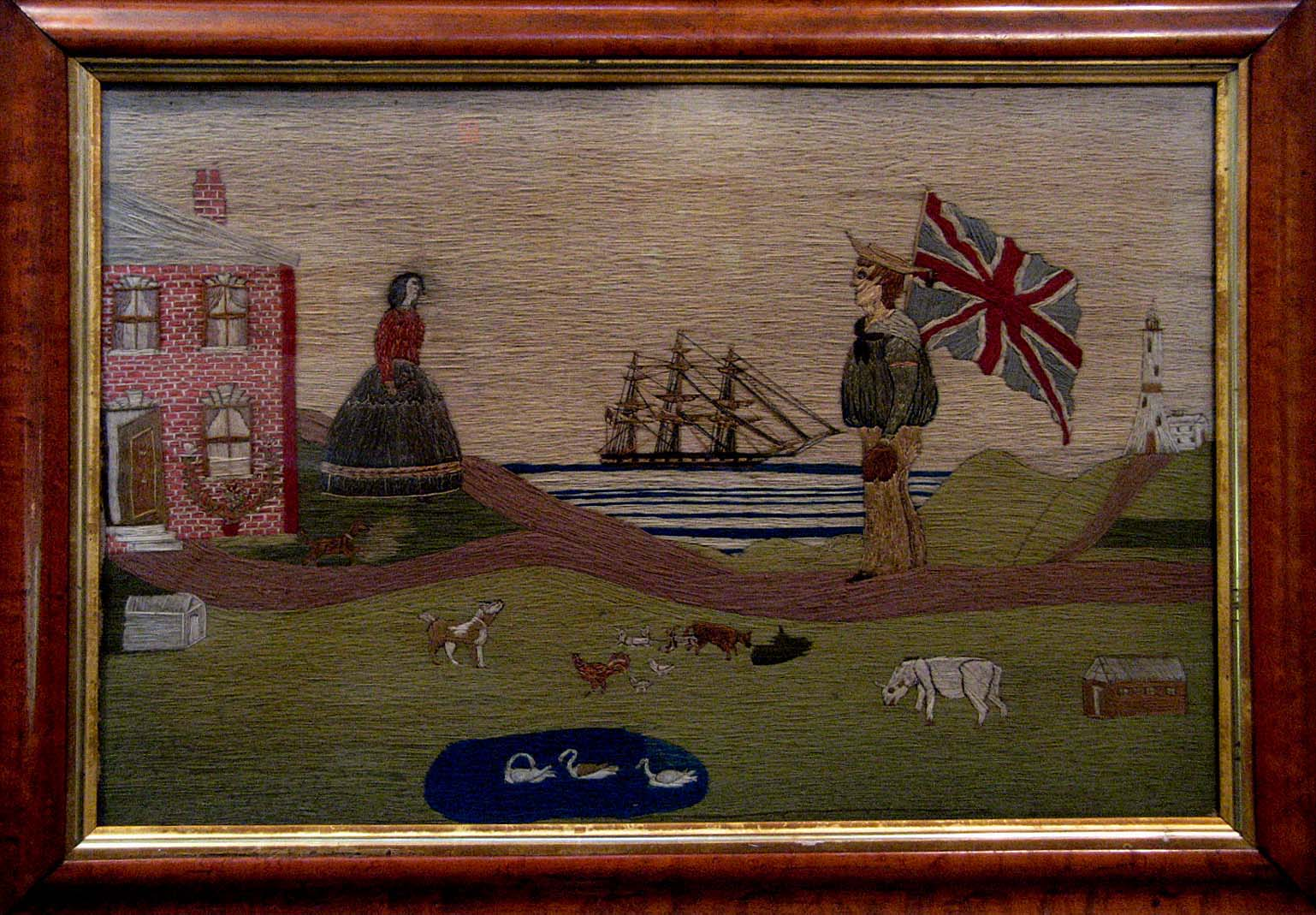 Sailor\'s Folk Art Returns to Annmarie Garden LexLeader