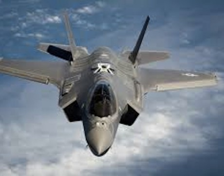 F-35 top test pilot UK