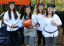 The Bronze Pumpkin was awarded to Personalized Therapy LLC for their Pirate theme.