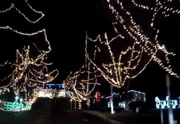 Bubby Knotts Christmas Lights 2020 Flat Iron Farm Christmas Village, Light Display Event LexLeader