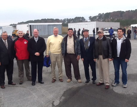 UMd UAS with crisfield dignitaries