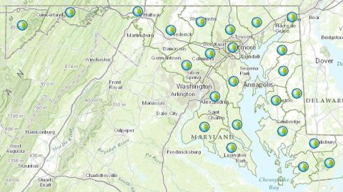 budget map of MD - ns