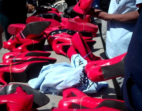 walden walk a mile in her shoes