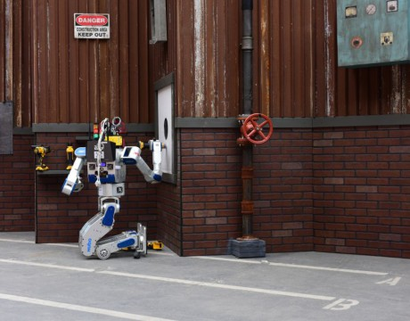 DARPA robot winner