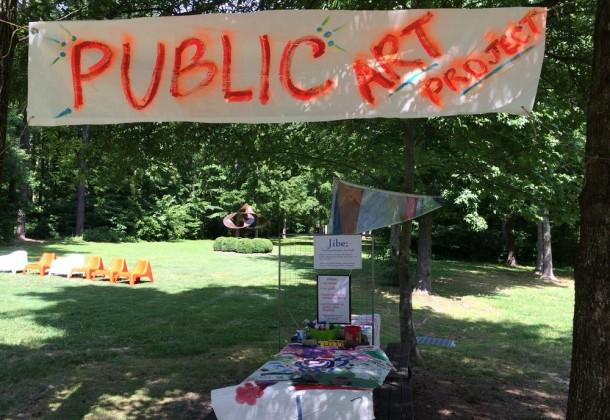 Collaborative Summer Public Art Project LexLeader