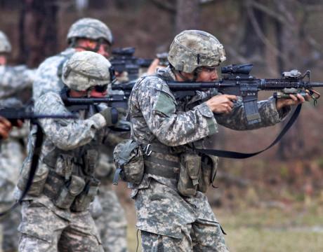 US Army marksmanship