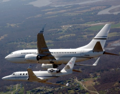 C-38A_and_C-40C_DC_ANG_in_flight