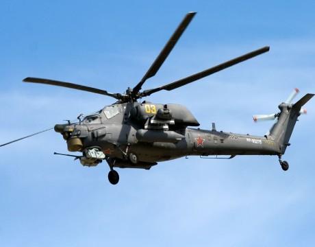 Russian Mi-28 Night Hunter