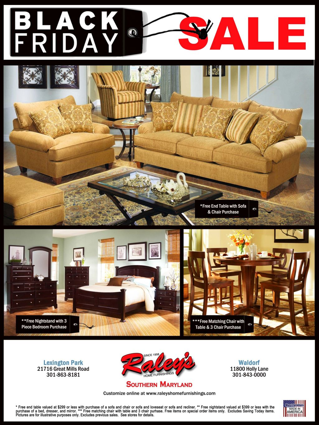 Raley 39 S Home Furnishings Black Friday Sale Lexleader