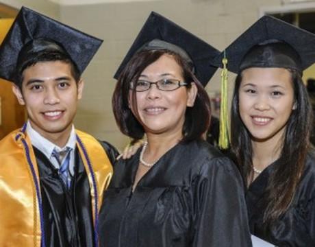 CSM graduates 2014