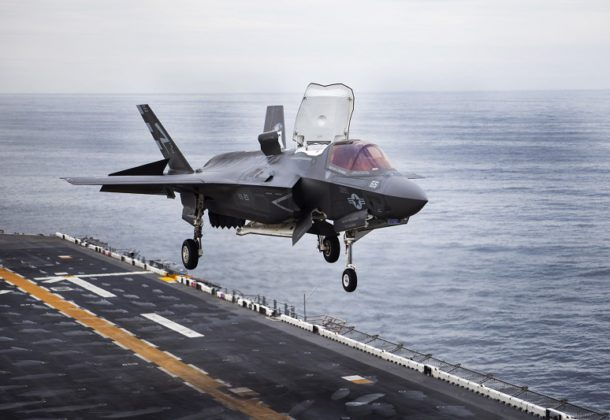 New Engine for F-35B Being Developed