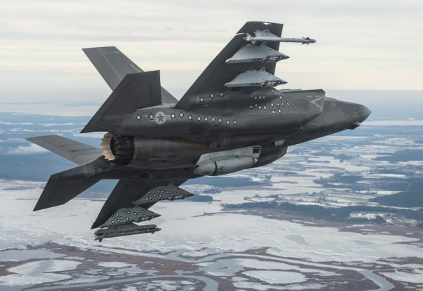 F-35's Gun Pod Trials Completed