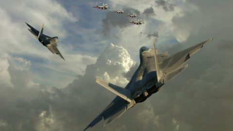 aircraft military dogfight raptors