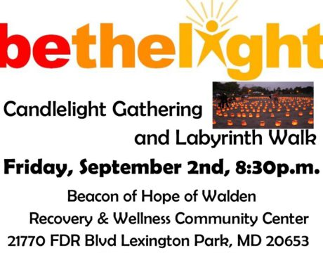 Walden Be the Light 2016 overdose event