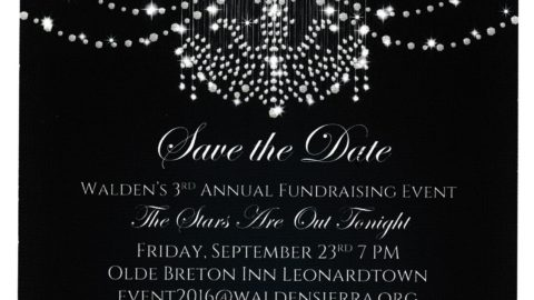Walden Sierra fundraiser 2016