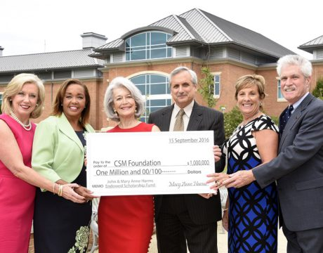 CSM Harms Donation $1 million gift