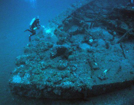 USS Monitor/NOAA image