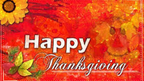 Thanksgiving Holiday Closings