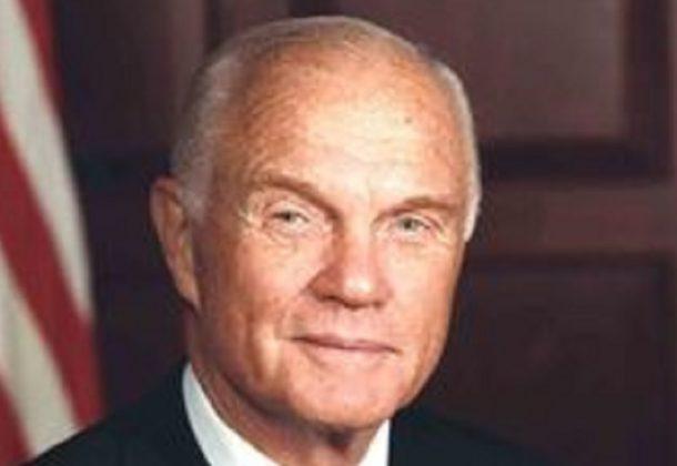 John Glenn remembered by Hoyer