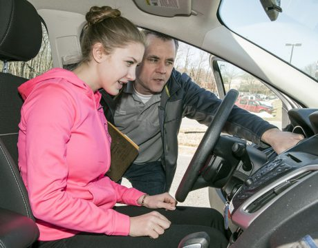 CSM Instructor Takes Safe Driving Seriously