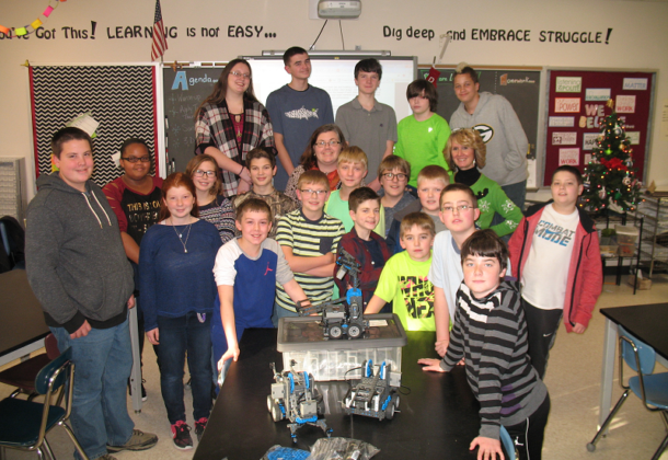 Robotics Team Margaret Brent MS