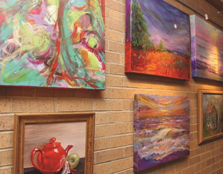 Artists Wood, Callen Featured in MedStar Show