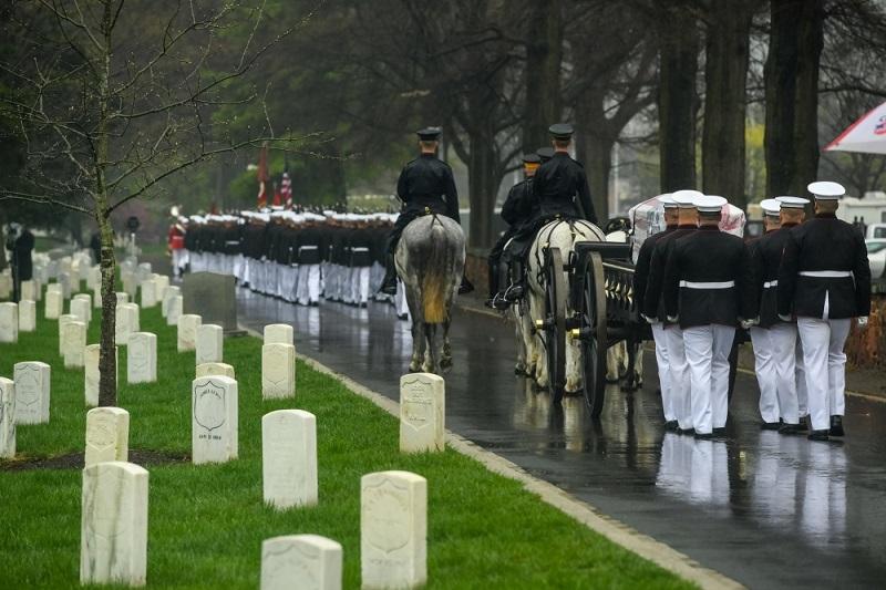 John Glenn Funeral
