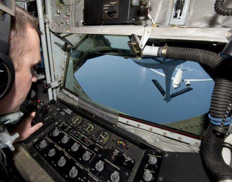 Refueling P-8 Poseidon