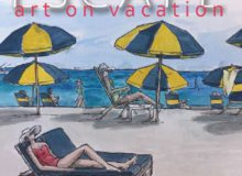 Annmarie Escape Art on Vacation