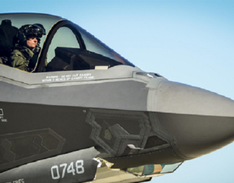 Hypoxia Incidents Under Review by F-35 Team