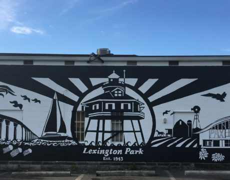 Lexington Park Live! Mural