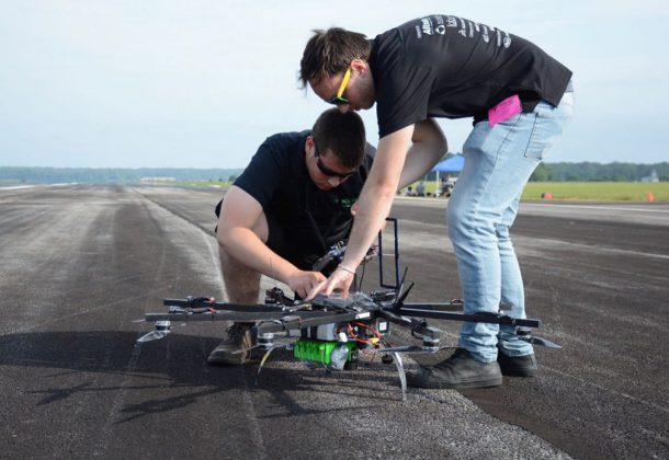 Volunteers Needed at AUVSI SUAS Competition