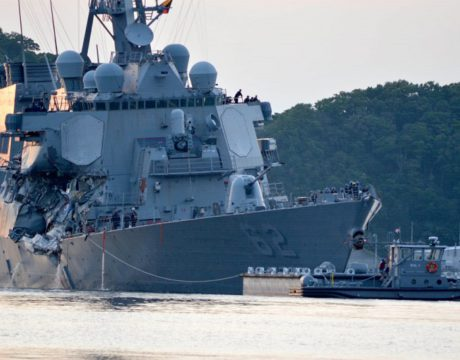 Sailors Killed in Destroyer Collision