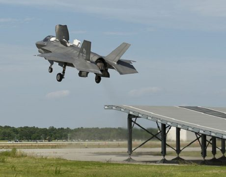 F-35B flight trials
