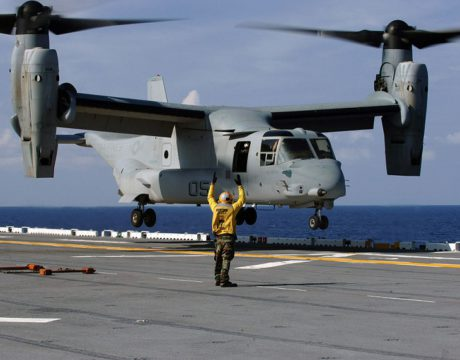 Marine Corps safety review Osprey