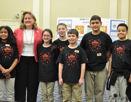 5th-Graders Bring Robotics for All