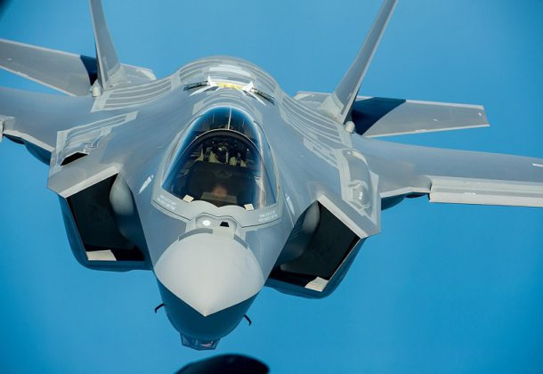 F-35A Altitude Restrictions