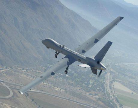 drones fighting wildfires