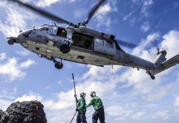 Military Drills MH-60S Seahawk