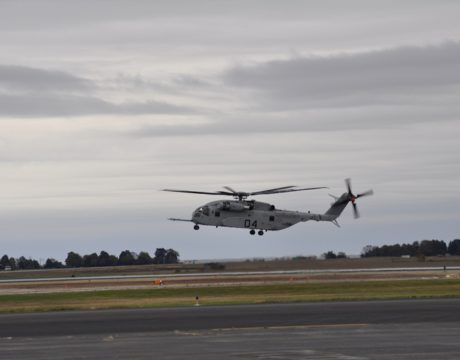 CH-53K Test Flight