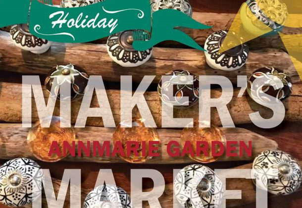 Maker's Markets Set Dec. 2, 9, 16