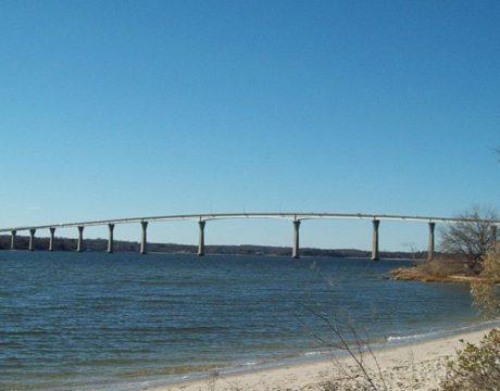 Flagging on Bridge