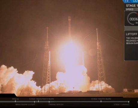 SpaceX Launches Secret Govt. Satellite