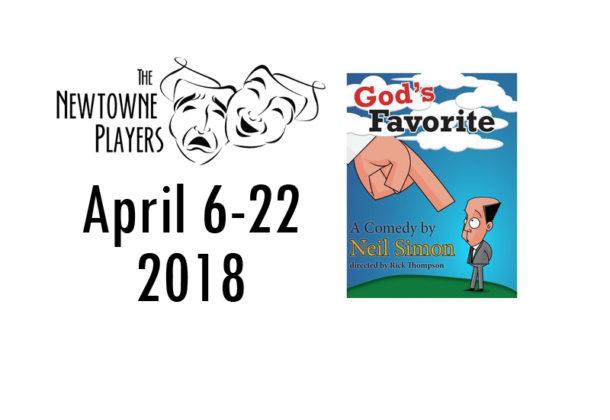 Newtowne Players Present 'God's Favorite'Three Notch