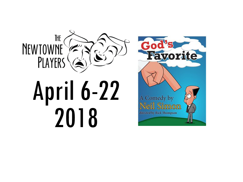 Newtowne Players Present 'God's Favorite'Three Notch
