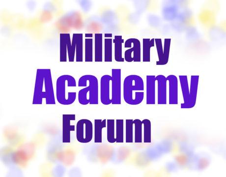 Hoyer Hosts Military Academy Forum