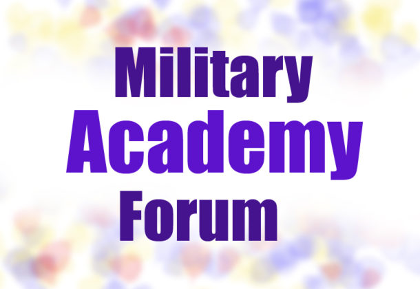 Hoyer Hosts Military Academy Forum