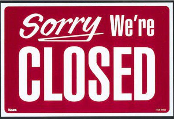 Columbus Day Closings