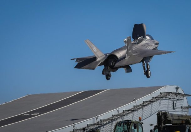 Problem With Fuel Tubes Grounds F-35s